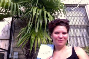 Featured Reader Jessica Kinnison with Rusty Bell in New Orleans (c) 2015 Jessica Kinnison