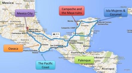 Mexico roadtrip