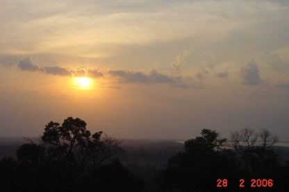 Actually this is sunrise in Angkor