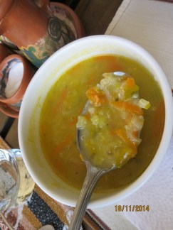 Tunupa Quinoa soup