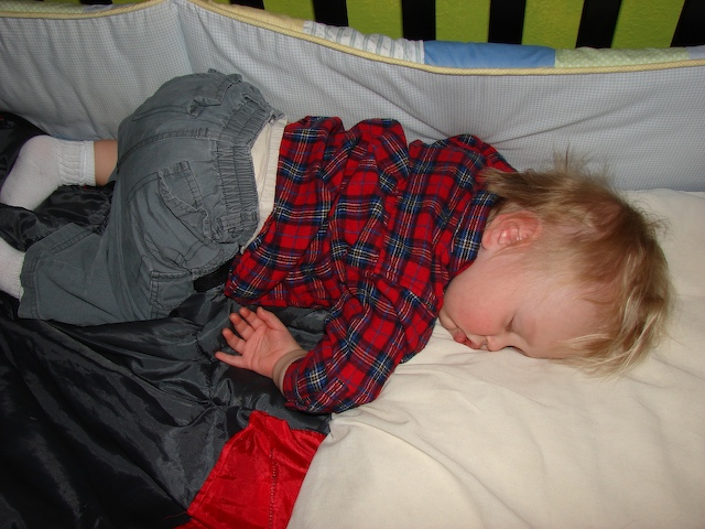 Anders sleeps off sickness