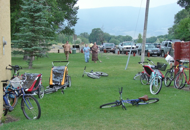 Bikes and chariots