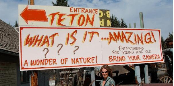 Teton Mystery — mystery spot in Jackson, WY
