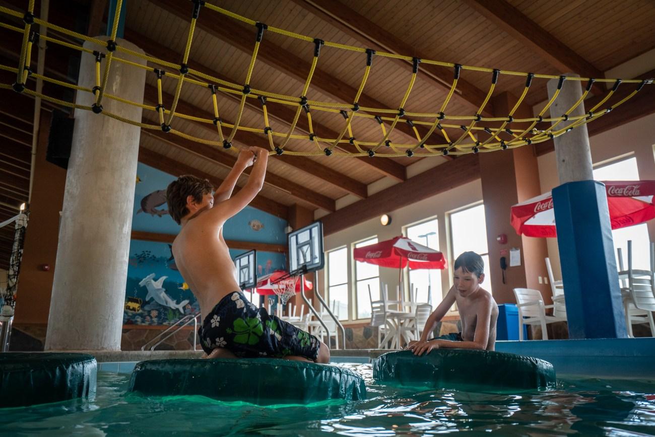 The Reef Indoor Water Park in Billings Mt
