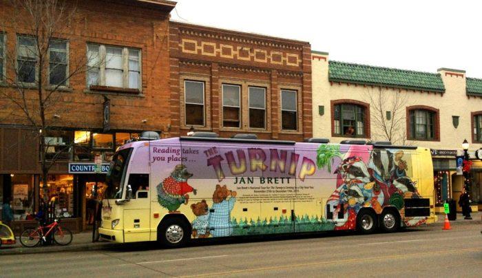 Jan Brett Tour Bus