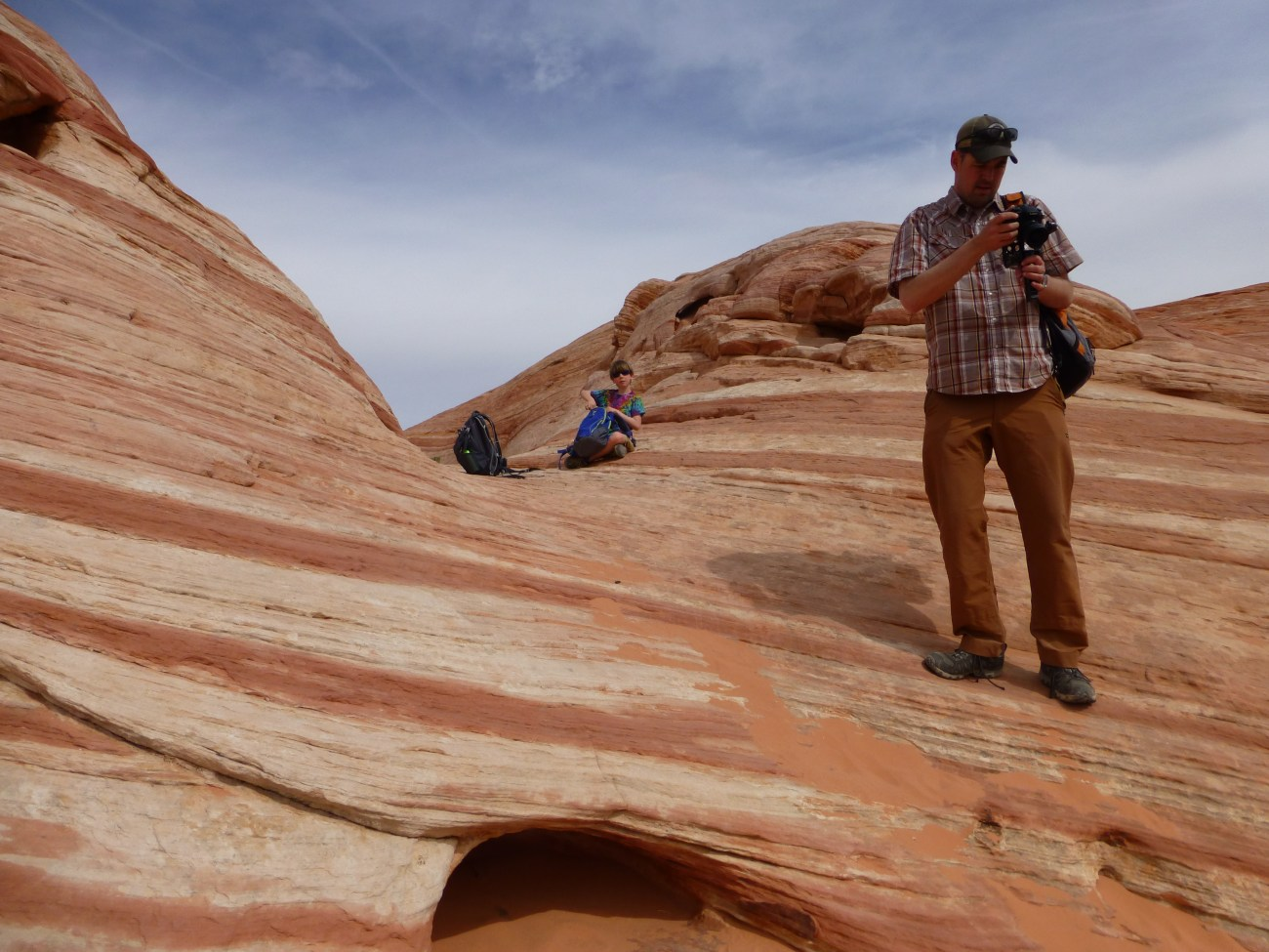 The Fire Wave at Valley of Fire NV