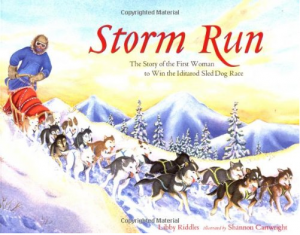 Storm Run Iditarod books for kids, adventure books for kids
