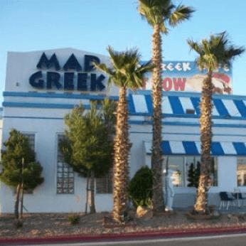Mad Greek Cafe in Primm Nevada