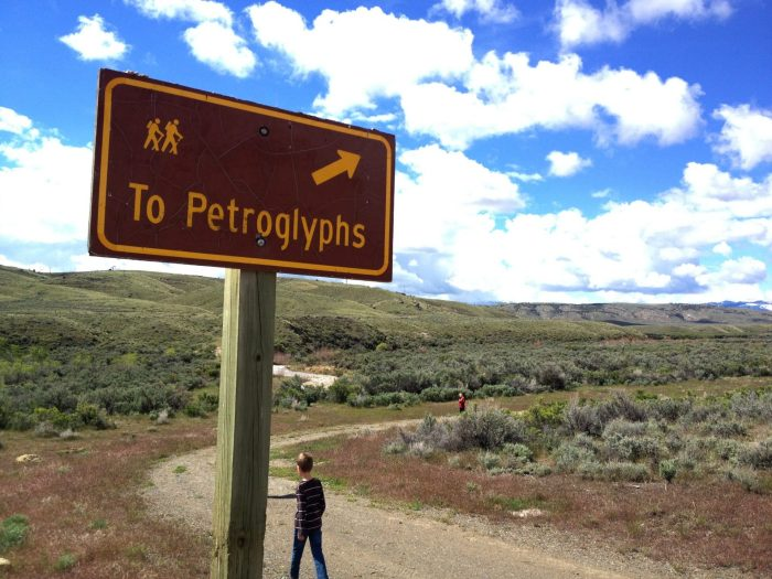 How to find petroglyphs