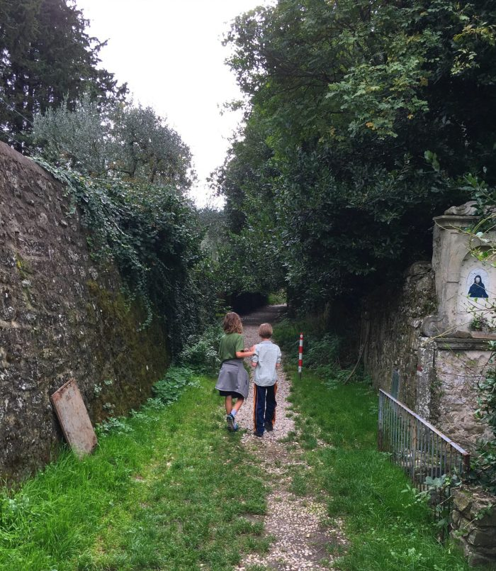 kids and famiy hikes near Florence