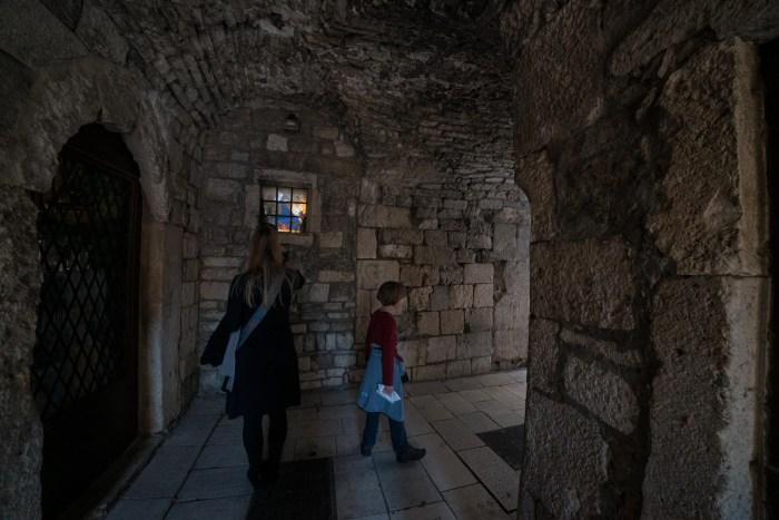 Diocletian Palace Split Croatia day trip from Hvar