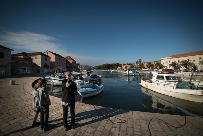 Vbroska on Hvar Island is one of the things to do hvar