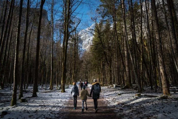 berchtesgaden national park hiking trails