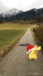 Santa Hat Pikachu Christmas Pickachu
