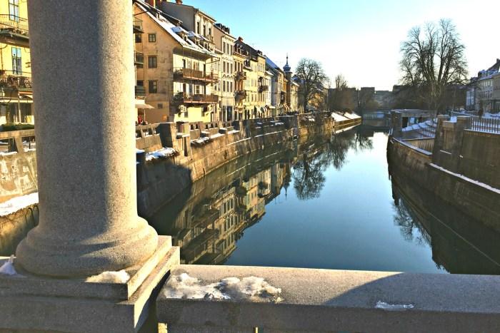 free bathrooms in ljubljana are under bridges in old town