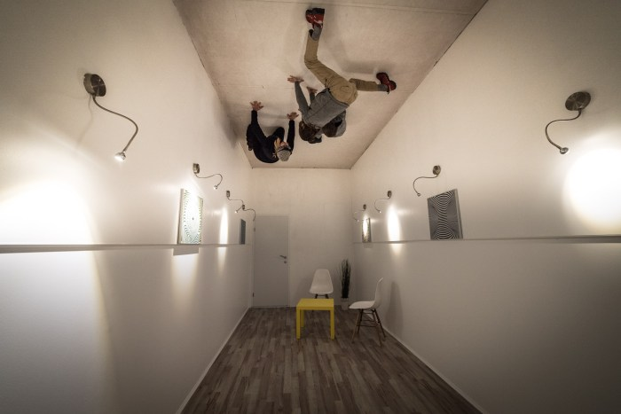 Fun for Kids in Ljubljana, Slovenia House of Illusions