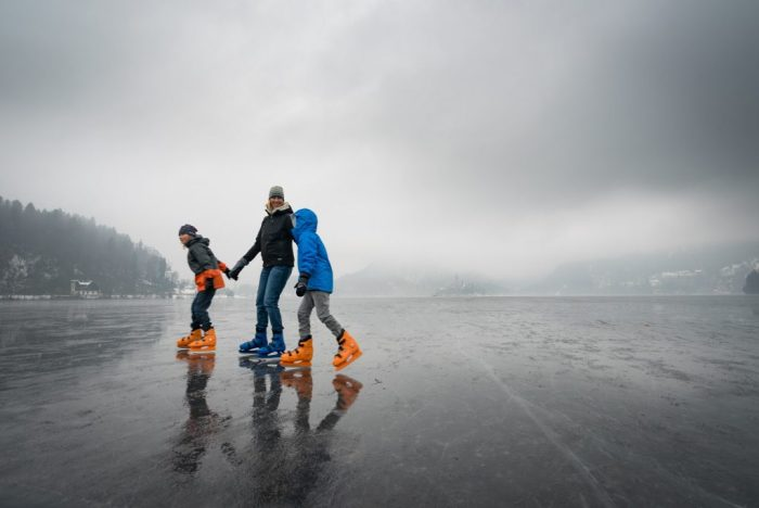 Can you ice skate on lake Bled