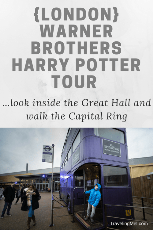 How to plan a trip to London's Warner Bros. Studio -- the Making of Harry Potter. Plus, the Capital Ring Walk.