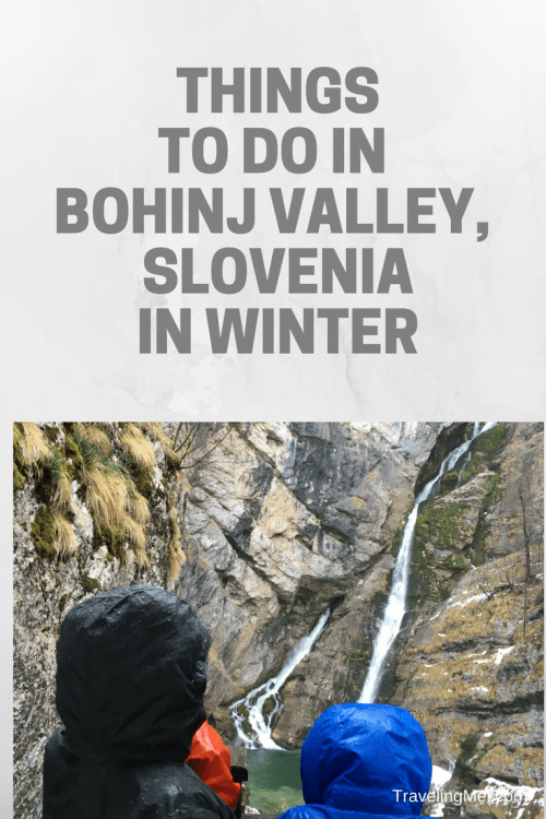 Plan your winter trip to Bohinj Valley, Slovenia. When you travel Slovenia, you don't want to miss this top spot.