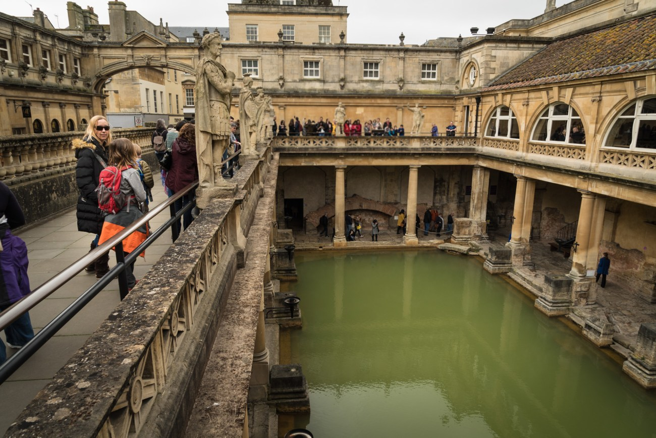 The Roman Baths are expensive but worth the price