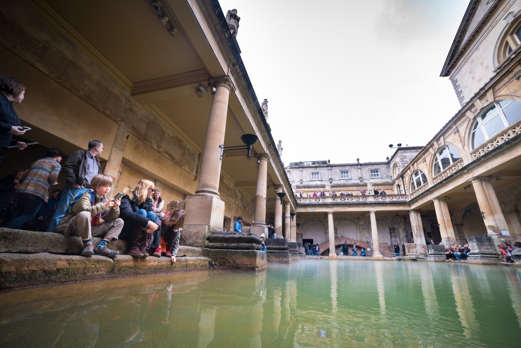 A day in Bath must include the Roman baths