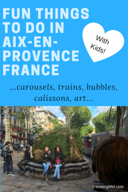 Fun things to do with kids in Aix-en-Provence, Provence, France.