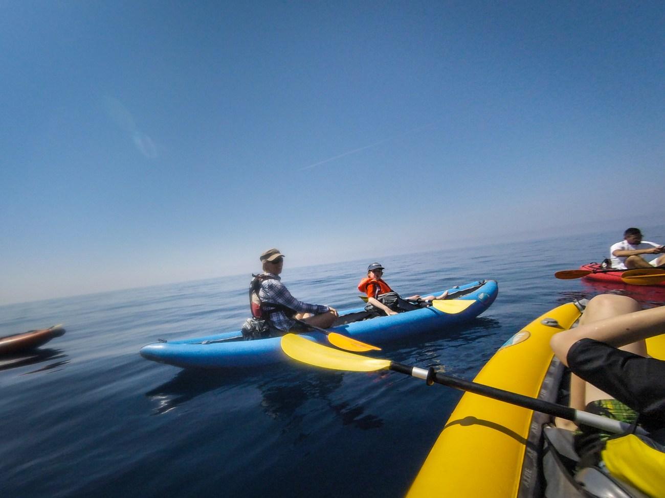 kayak in kotor