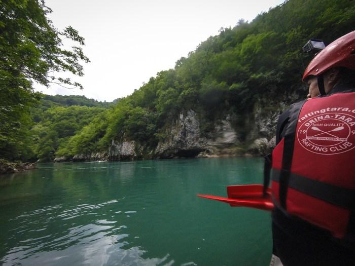 rafting on the Tara River Canyon Montenegro