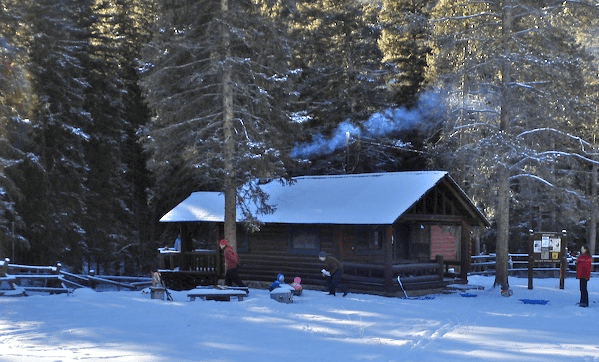 Mill Creek Cabin winter cabins near me