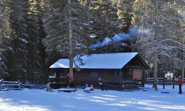 Mill Creek Cabin winter cabins near me