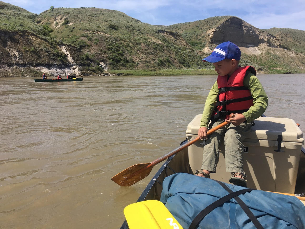 Canoeing the Missouri River Trail