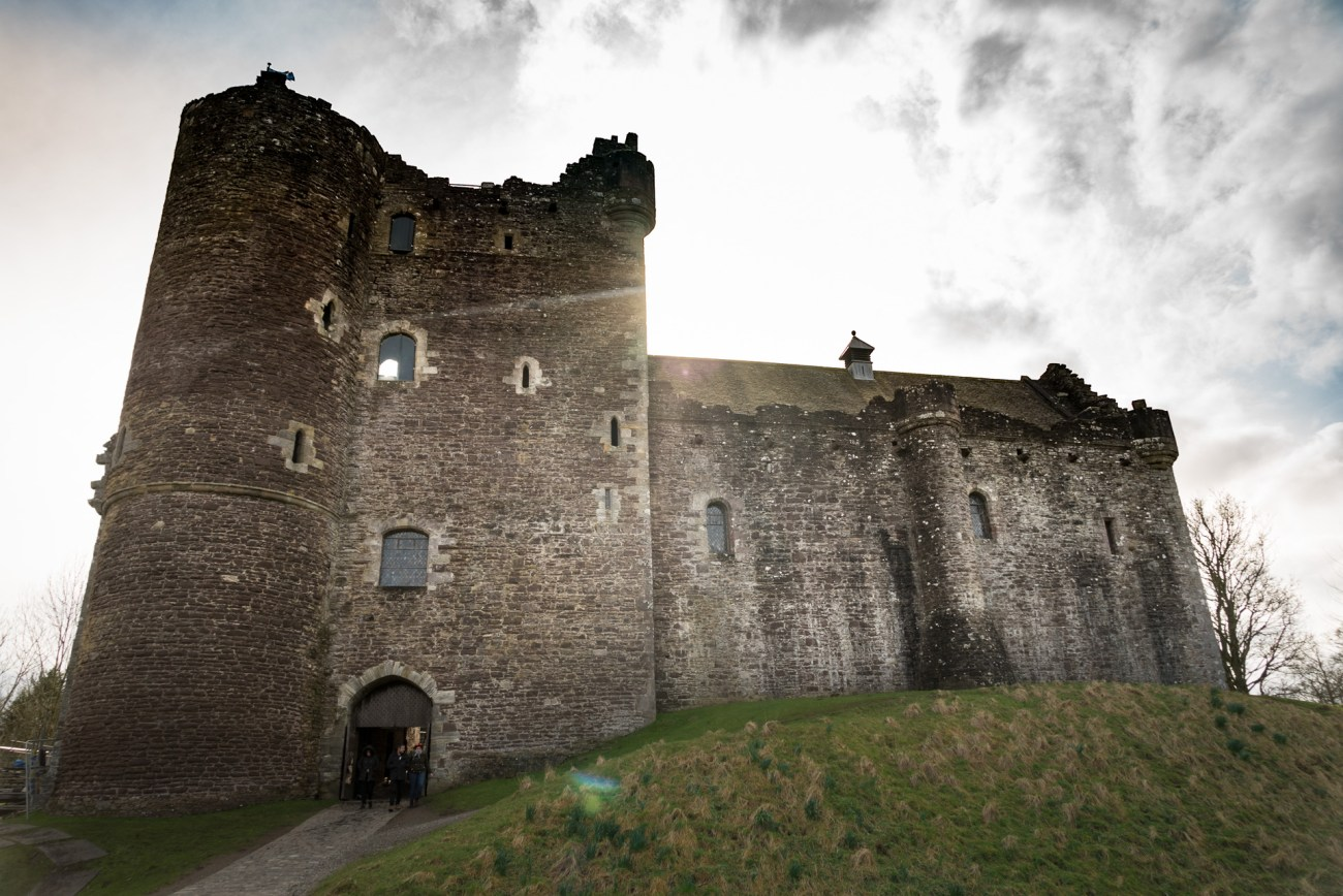 Doune Castle should be on a 4 day Scotland itinerary