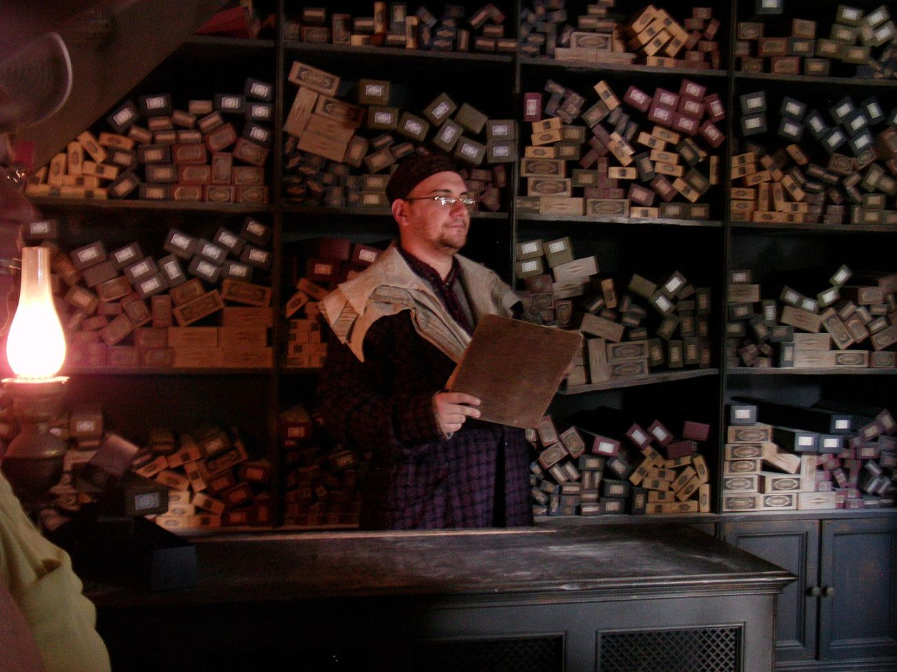 Ollivanders Wand Shop at Harry Potter World Universal Studios Florida