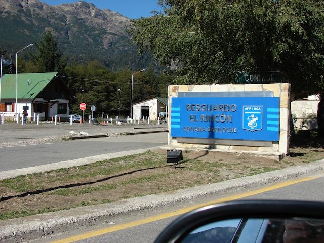 Argentine border