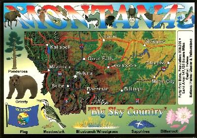 Montana Postcard