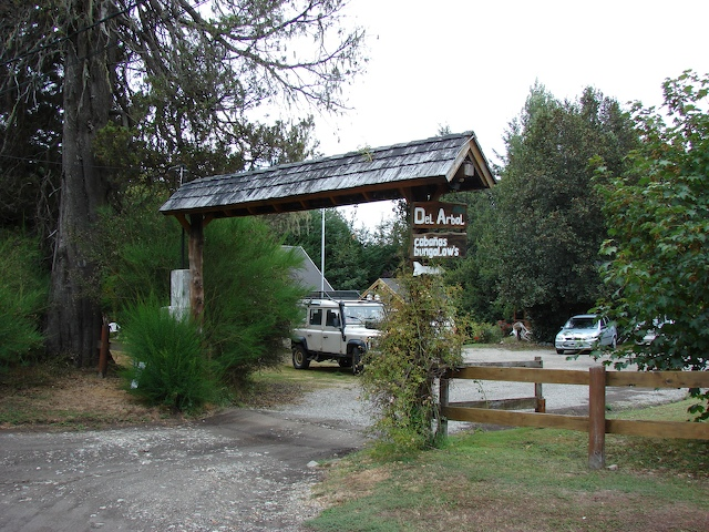 Entrance to Cabaña de Arbol