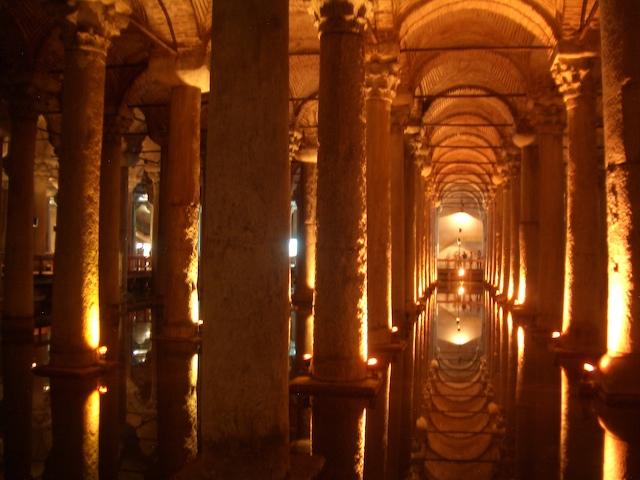 Basilica Cistern in Turkey