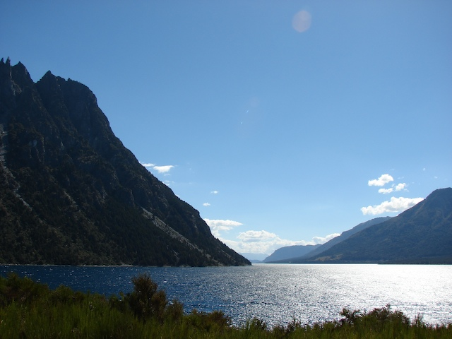 Another view from the road back to Bariloche.