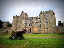 The Magnificent Castle in the northern corner of England