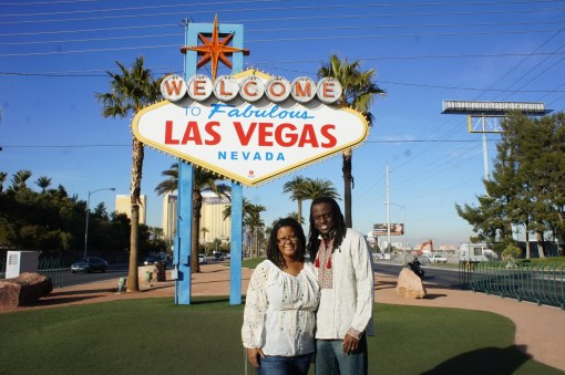 Byron L. Williams and wife, Denise Williams in Las Vegas, NV in Ukrainian garb.
