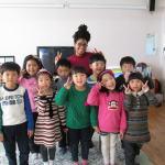Anazette in Korea