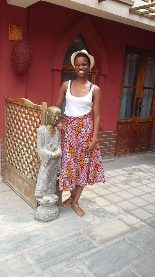 Edna Elizabeth in China
