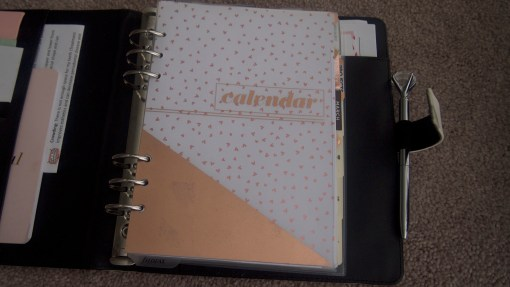 Filofax Dashboard