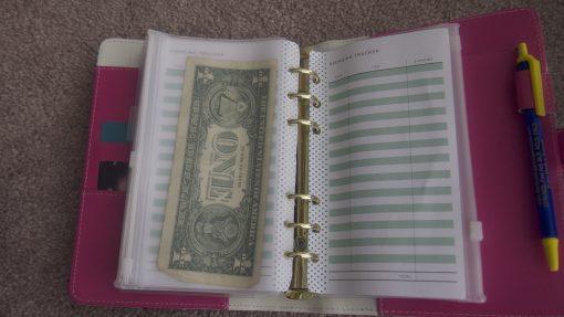 cash envelope binder