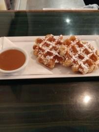 Medina Cafe: Liege Style Waffle with Salted Caramel