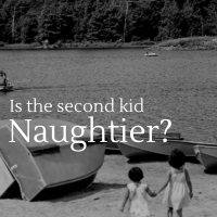 Is the Second Kid Naughtier?