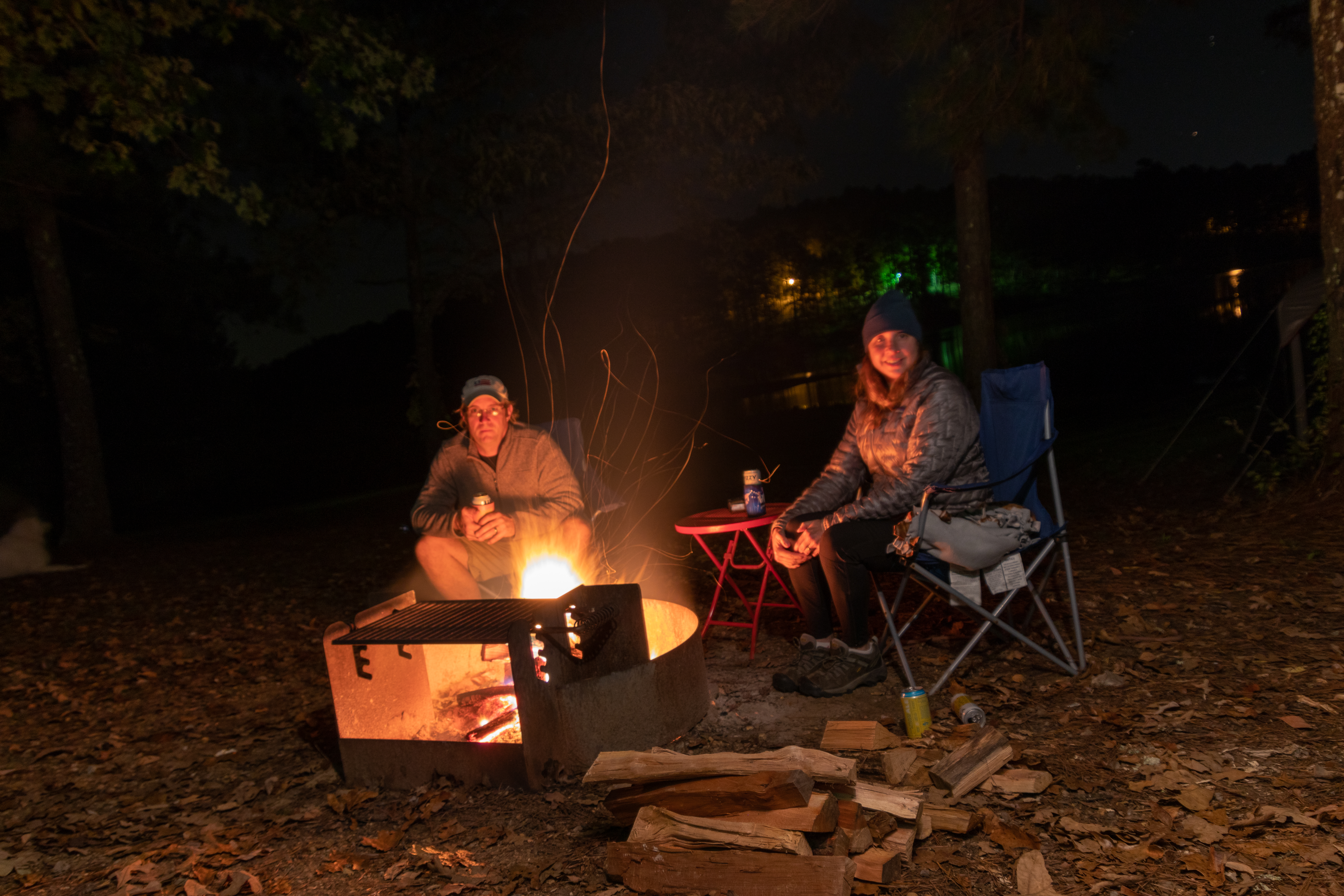 Tishomingo State Park Camping near the Natchez Trace Parkway