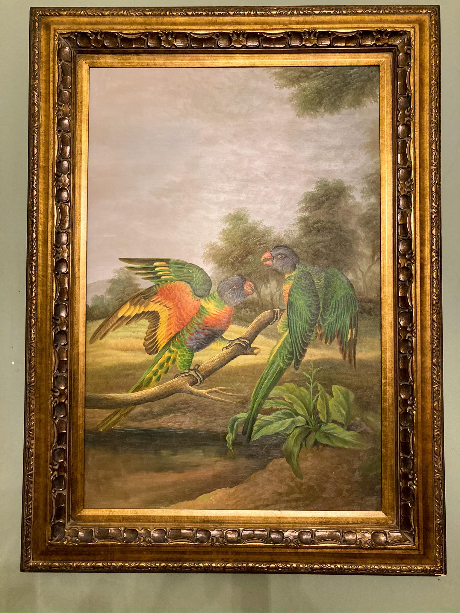 Painting in Antebellum in Natchez Mississippi