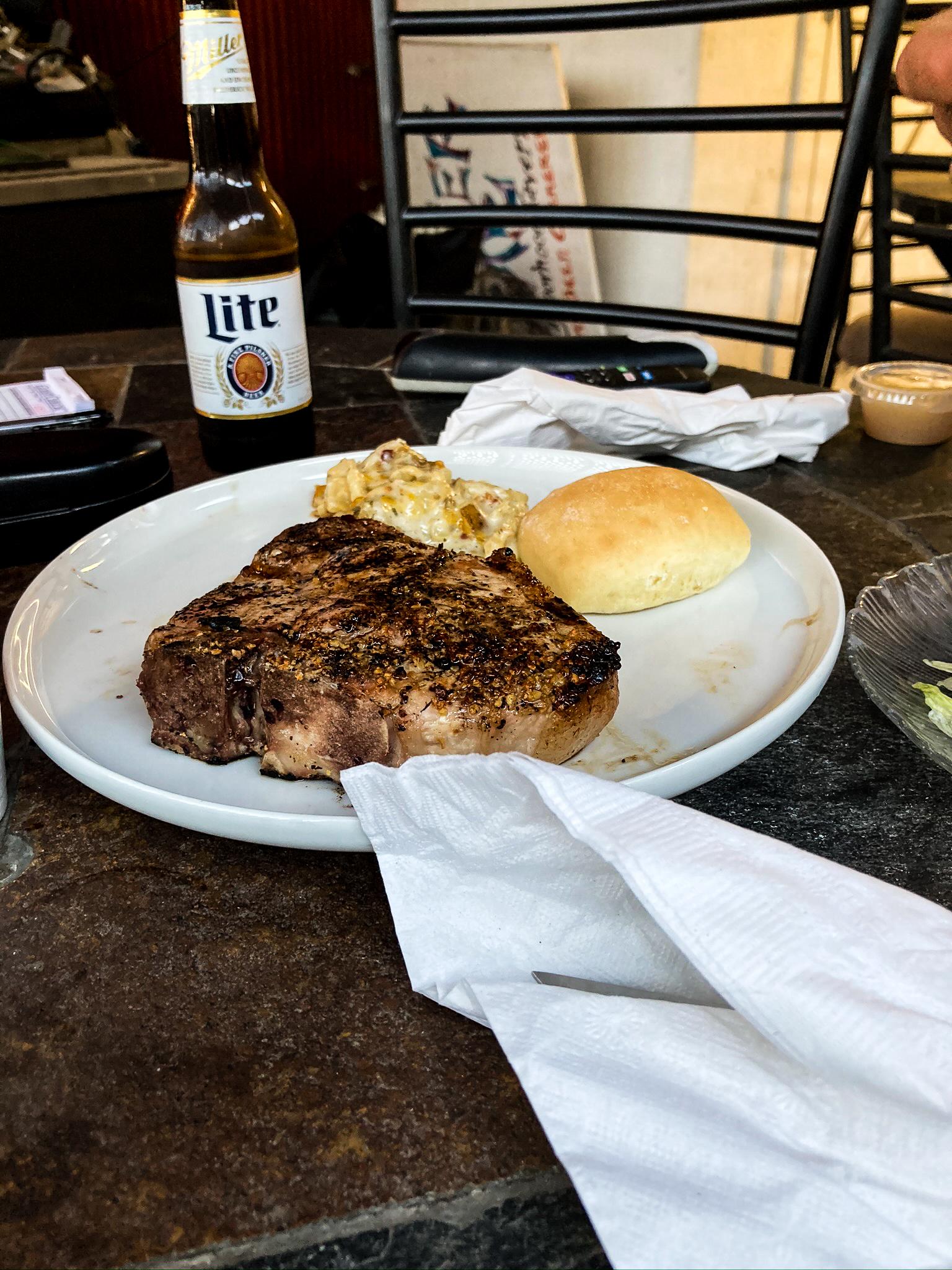 The Corner bar food near Natchez Trace Parkway