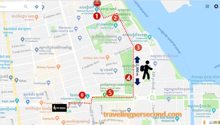 Phnom Penh Route2